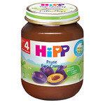 HIPP Био бебешко пюре Сливи 4м+ 125 гр.